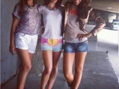 escorte mature: Trei fete